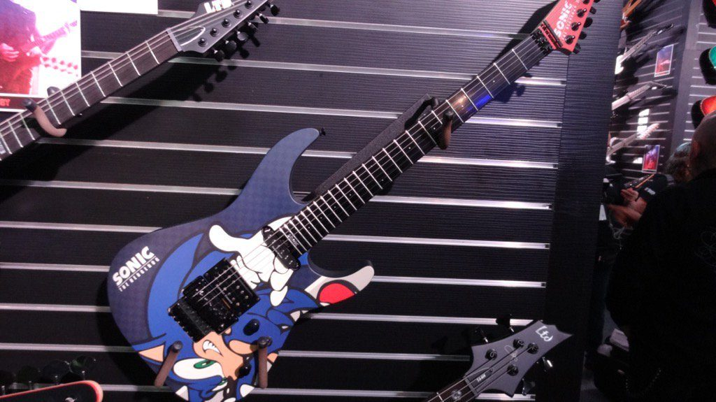 Sonic the Hedgehog guitar
